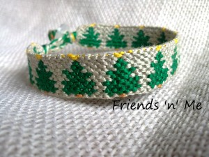 christmas friendship bracelet