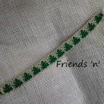 Christmas Friendship Bracelet